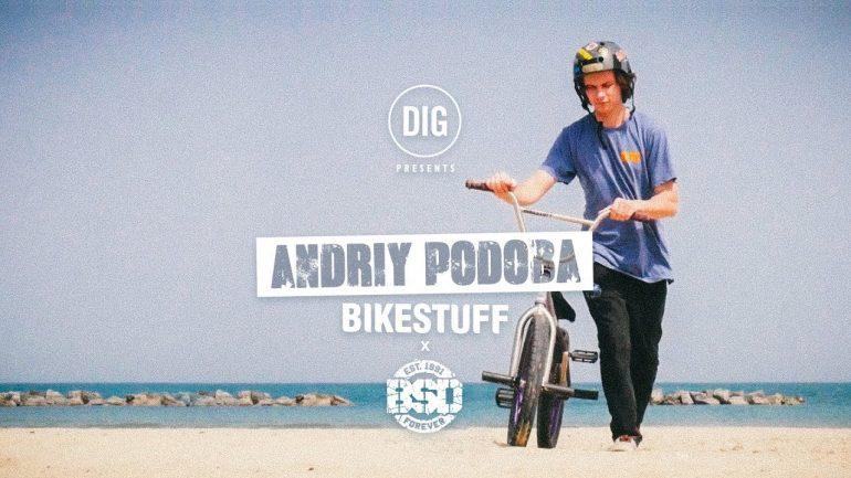 Andriy Podoba - Bikestuff - BSD - Loked BMX magazine