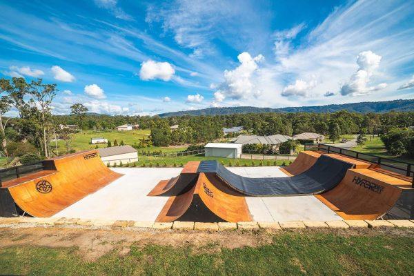 Logan Martin - Backyard Skatepark - Loked BMXmagazine