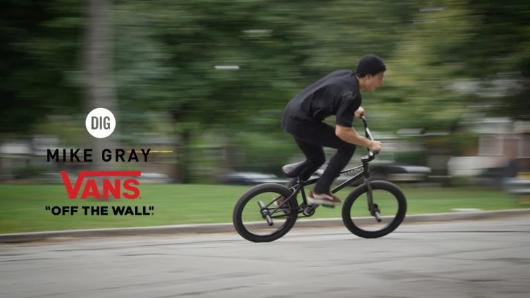 Mike Gray - Vans Canada - Loked BMXmagazine