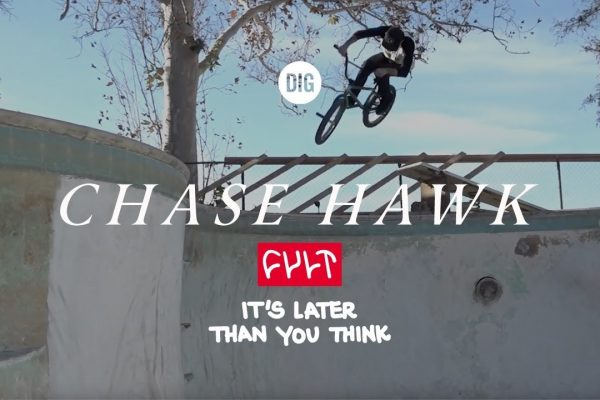 Chase Hawk - Cult It's Later Than You Think - Loked BMXmagazine