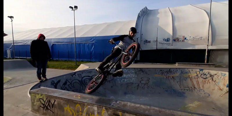 Damian Blicharz - Loked BMX magazine