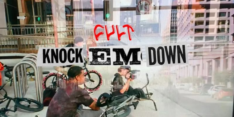 Cult Knock Em Dawn - Loked BMX magazine
