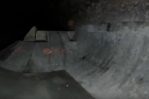 Tak wygląda opuszczony skatepark w tunelu Nike 6.0 JAM - Loked BMX magazine