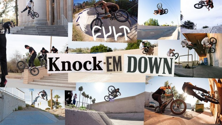Cult Knock Em Down - Loked BMX magazine