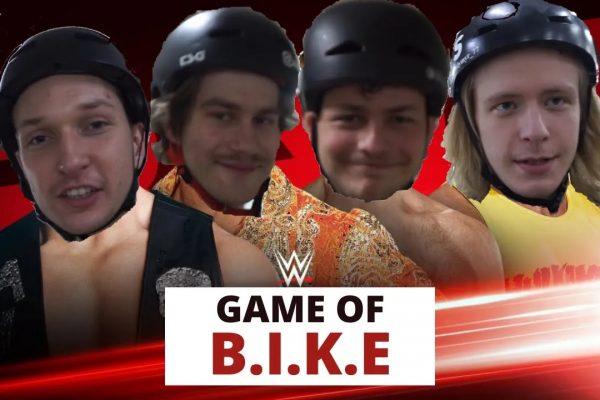 GAME OF B.I.K.E: Maks Płuciennik & Maciek Maliszewski VS Volodymyr Panasenko & Jaro Stromski - Loked BMXmagazine